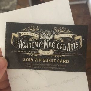 Other - Magic Castle VIP pass